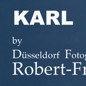 Karl Lagerfeld by Düsseldorf Fotograf, Robert Freund